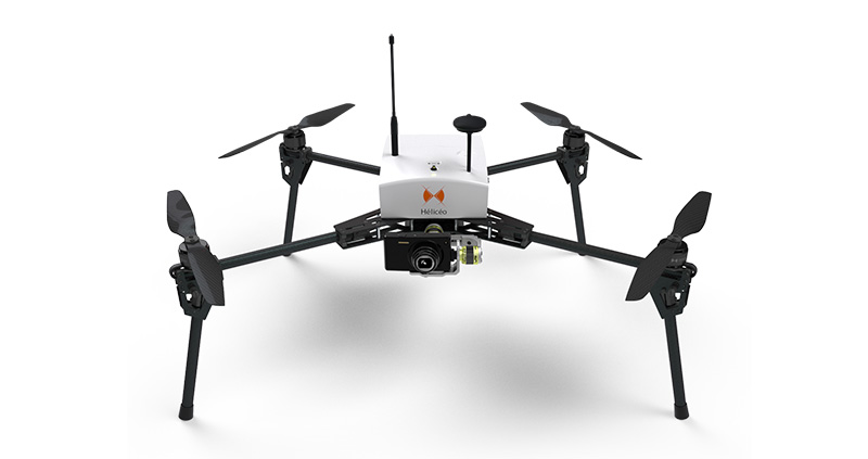 Heliceo - Fox4 Drone for professionals