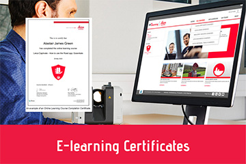Leica Geosystems AG e-learning certificates