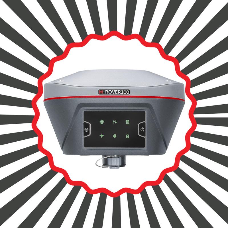 Ενοικίαση δέκτη GNSS - M-ROVER100